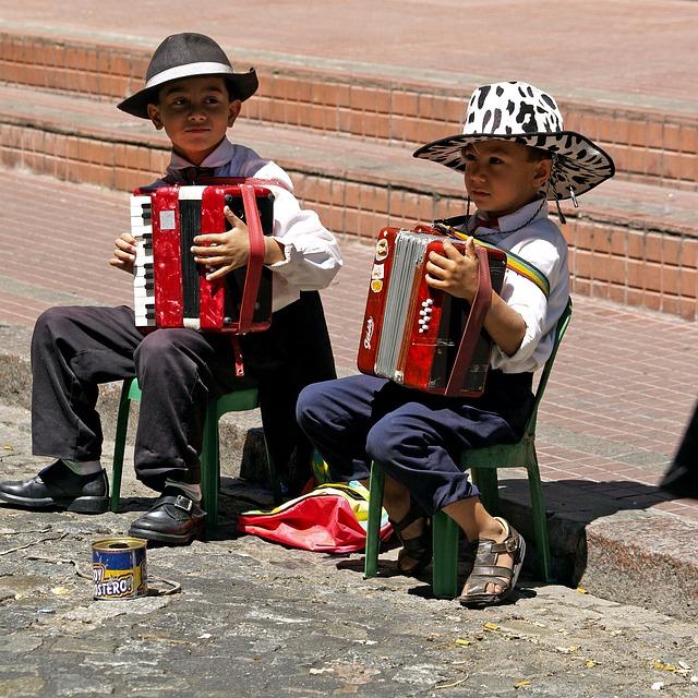børn og instrumenter