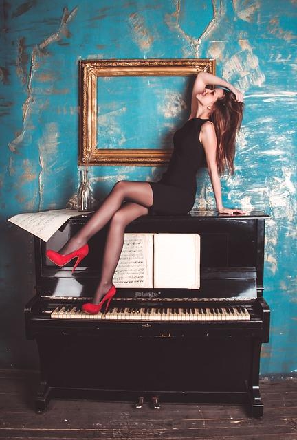 pige, klaver